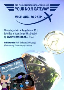 Clubkampioenschappen aankondiging - 2018